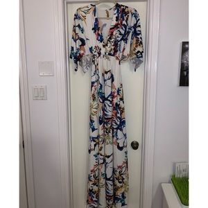 Rachel Pally Caftan Maternity Dress- Floral